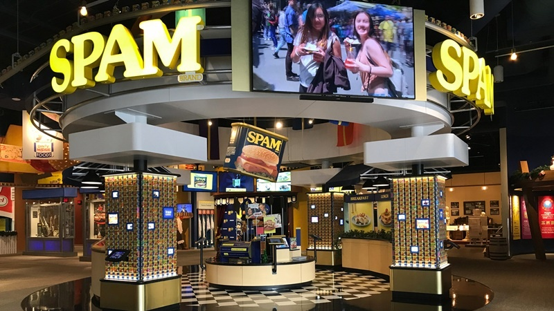 The Broke Traveler Visits the SPAM Museum